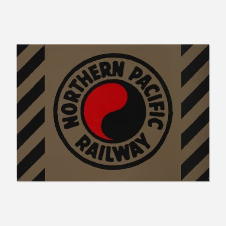 Serigrafia Cottingham - Northern Pacific Railway