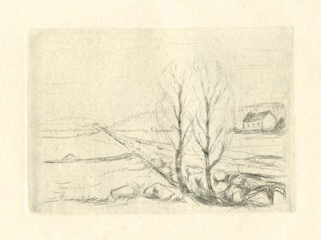 Punta Secca Munch - Norwegische Landschaft / Norwegian Landscape
