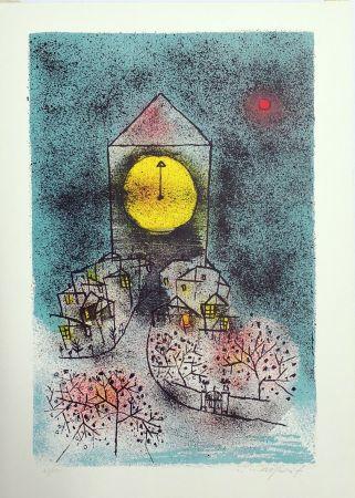 Litografia Rognoni - Notturno