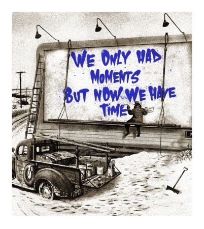 Serigrafia Mr Brainwash - Now Is The Time