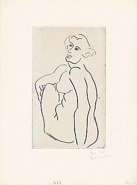 Incisione Matisse -