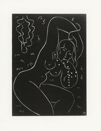 Linoincisione Matisse - Nu au Bracelet