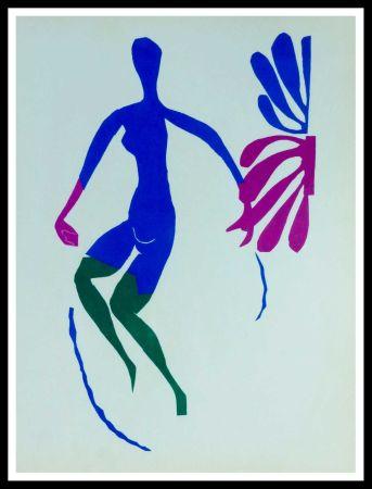 Litografia Matisse (After) - NU AU ROSEAUX