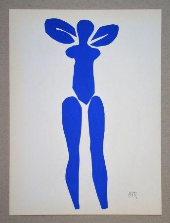 Litografia Matisse (After) - Nu bleu debout - 1952