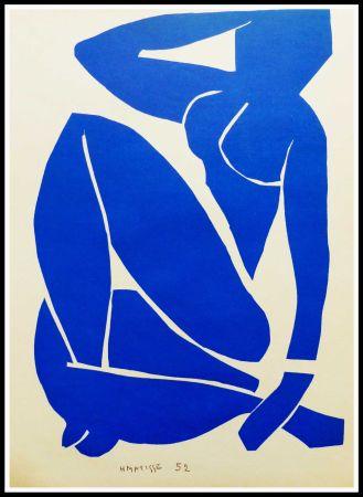 Litografia Matisse - NU BLEU I