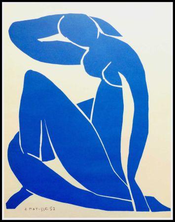 Litografia Matisse - NU BLEU II