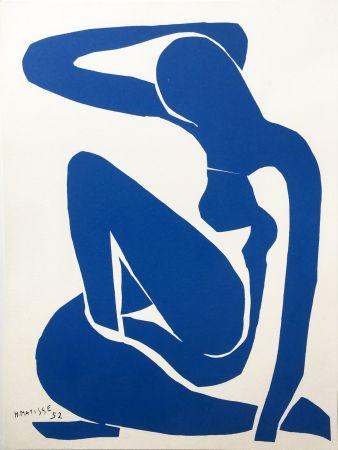 Litografia Matisse - NU BLEU III (1952/1958)