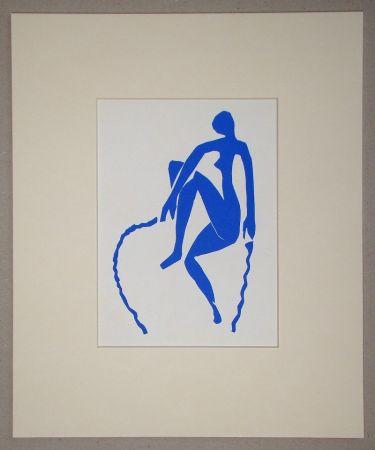 Litografia Matisse (After) - Nu bleu, sauteuse de corde - 1952