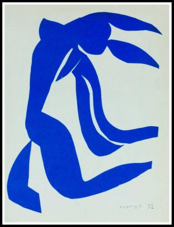 Litografia Matisse (After) - NU BLEU VII