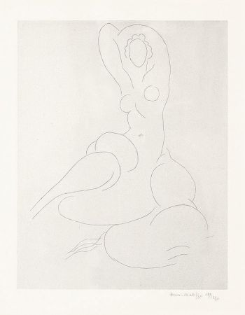 Incisione Matisse - Nu Pour Cleveland