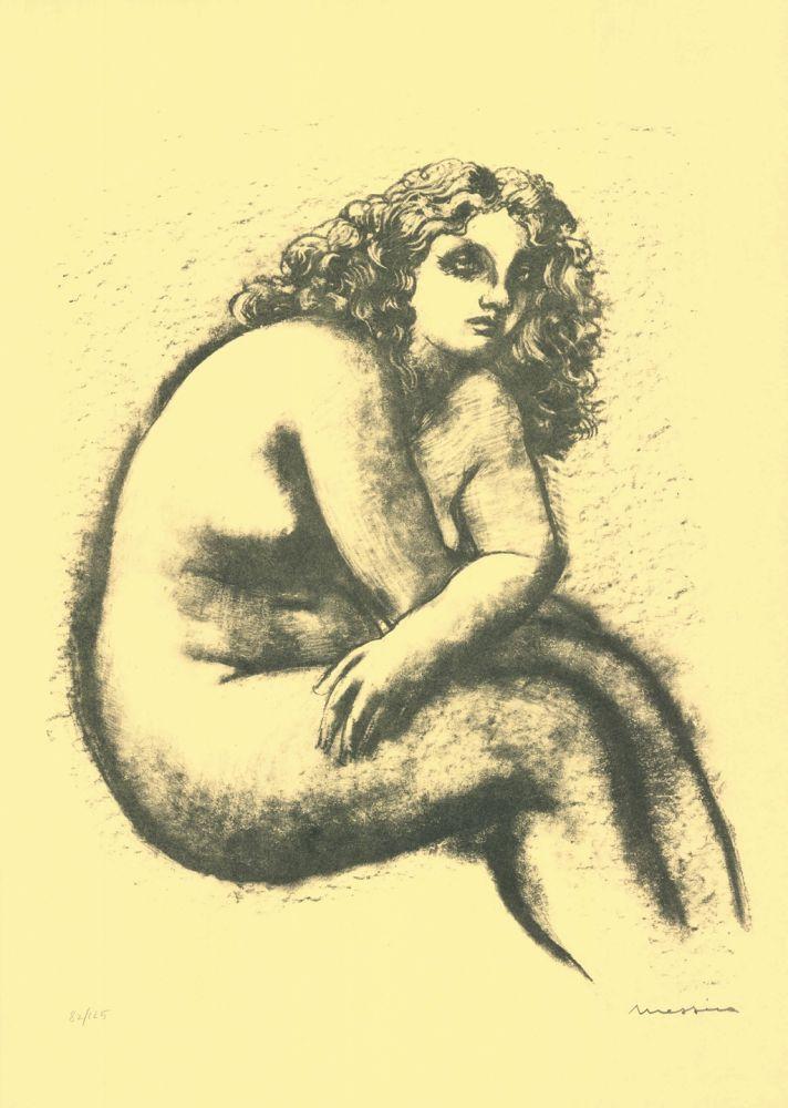 Litografia Messina - Nude