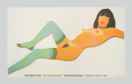 Litografia Wesselmann - Nude