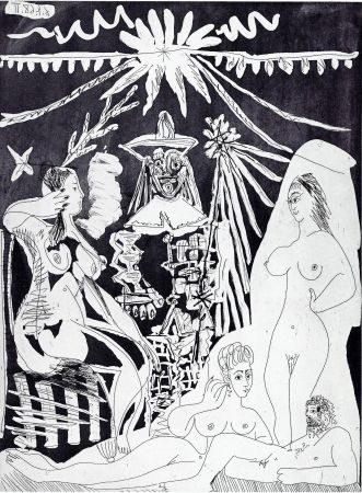 Incisione Picasso - Nudes