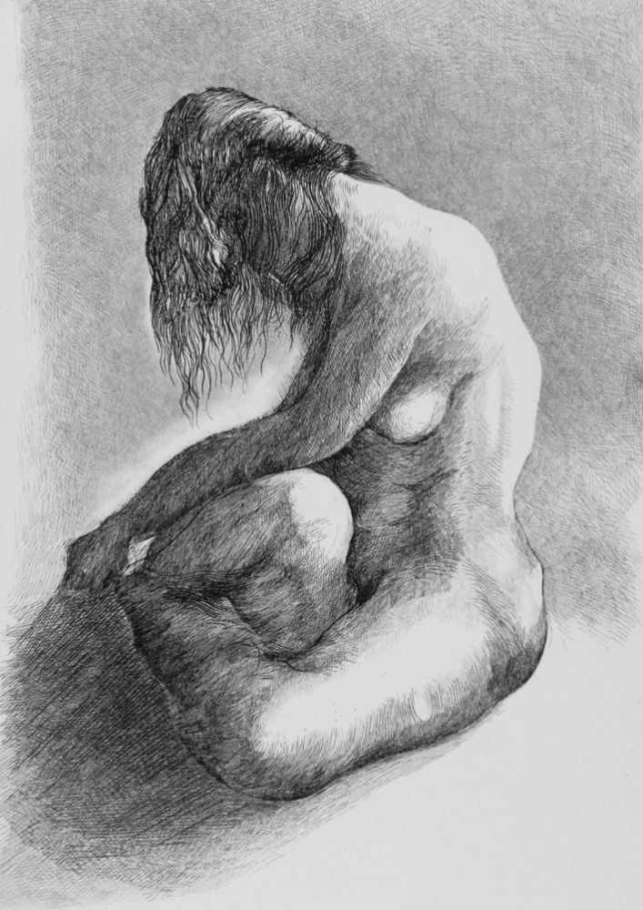 Acquaforte Carrera - Nudo