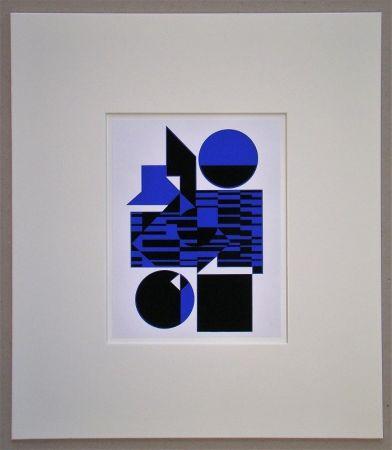 Serigrafia Vasarely - OB - 1956
