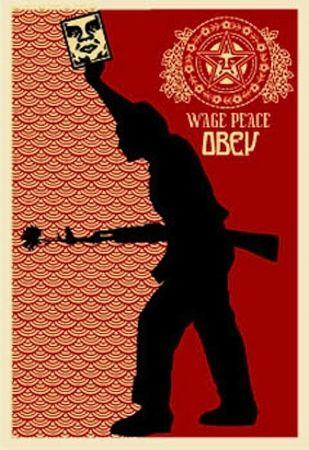 Serigrafia Fairey - Obey '04, from Retro Series