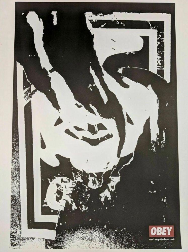 Litografia Fairey - Obey (Ripped)