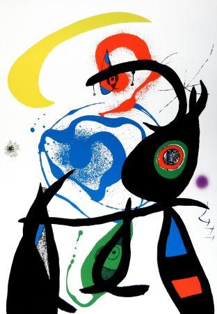 Litografia Miró - Oda a Joan Mirò