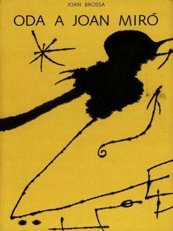 Libro Illustrato Brossa - Oda a Joan Miró