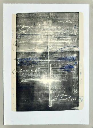 Litografia Tàpies - Oeuvre gravè