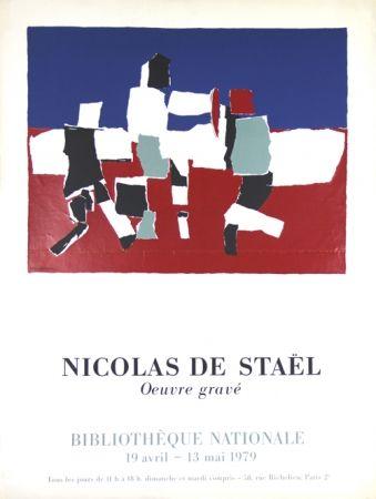 Serigrafia De Stael - Oeuvre Gravée   Bibliothéque Nationale