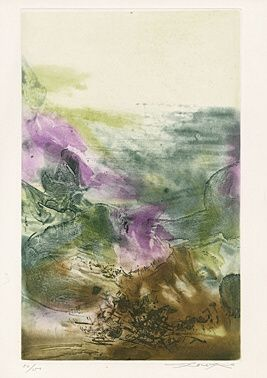Acquaforte E Acquatinta Zao - Ohne Titel