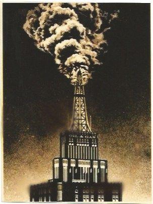Serigrafia Fairey - Oil & Gas Building