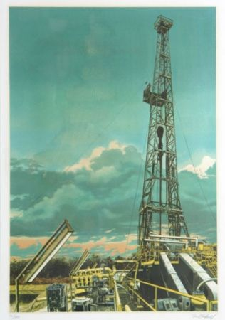 Serigrafia Blackwell - Oil Well
