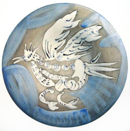 Ceramica Picasso - Oiseau 91