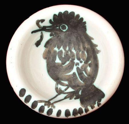Ceramica Picasso - Oiseau au ver