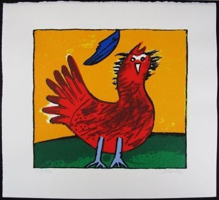 Litografia Corneille - Oiseau Hollandais