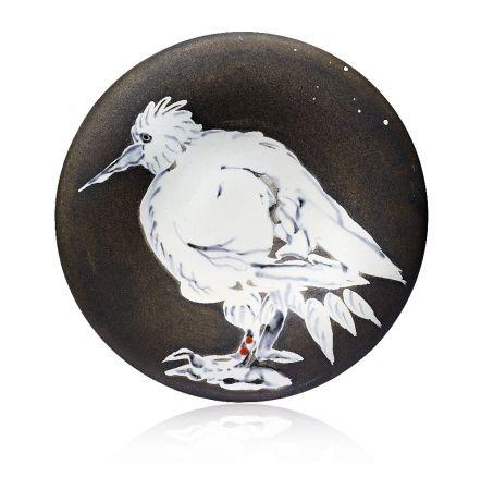 Ceramica Picasso - Oiseau No. 76 (Bird No. 76), 1963