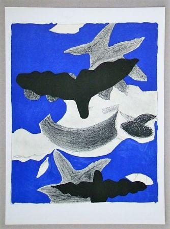 Litografia Braque (After) - Oiseaux