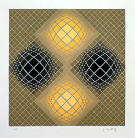 Serigrafia Vasarely - Olla
