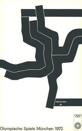 Litografia Chillida - Olympische Spiele München 1972