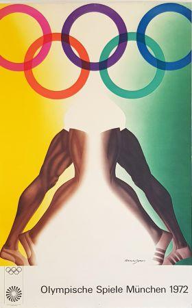 Manifesti Jones - Olympishe  Spiele  Munchen  1972