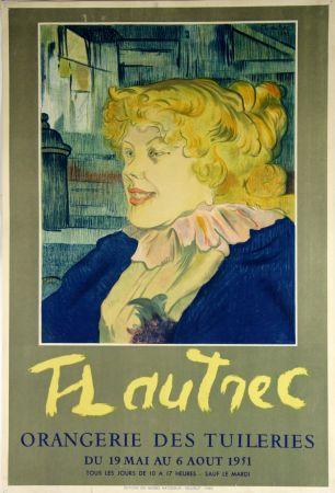 Litografia Toulouse-Lautrec - Orangerie Des Tuileries