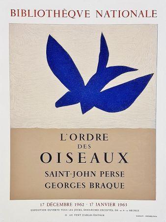 Manifesti Braque - Ordre des oiseaux