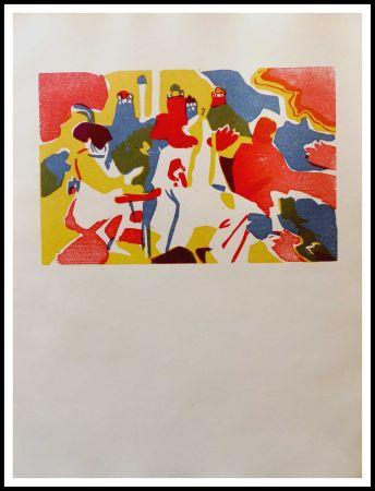 Incisione Su Legno Kandinsky - ORIENTALES