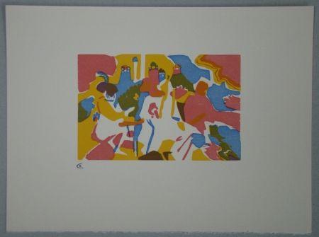 Incisione Su Legno Kandinsky - Orientalisches, 1911