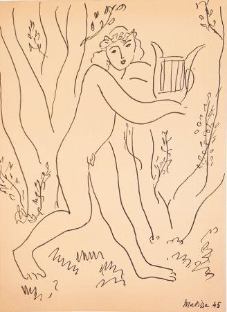 Non Tecnico Matisse - Orphée  Les Musiciens Celébres