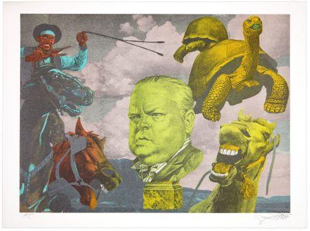 Litografia Erro - Orson Welles