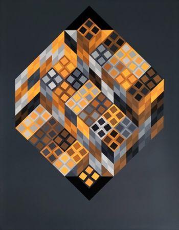 Multiplo Vasarely - Orvar,