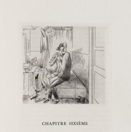 Libro Illustrato Laboureur - Oscar Wilde : LE PORTRAIT DE DORIAN GRAY. 23 gravures originales (1928)