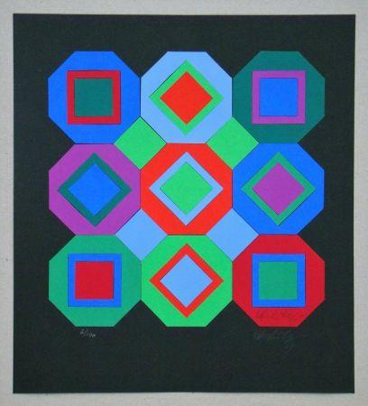 Multiplo Vasarely - OttO