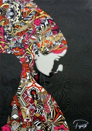 Serigrafia Prefab77 - Oulandos D'amour - Black/Gold