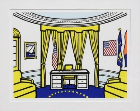 Serigrafia Lichtenstein - Oval Office