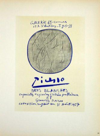 Litografia Picasso (After) - Pâtes Blanches