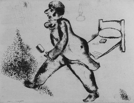 Acquaforte Chagall - Pétrouchka