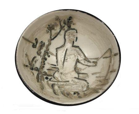 Ceramica Picasso - Pêcheur à la ligne